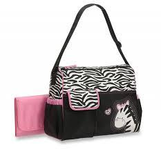 baby boom zebra print duffel diaper bag 092317097088 ebay