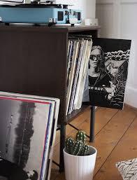 record player table ikea ikea hack vinyl storage pinteres