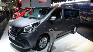 minivan nissan 2017 nissan nv 300 comfort exterior and interior iaa hannover