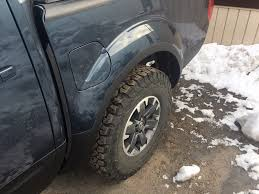nissan frontier mud flaps rock chip protection leading edge of bed pannels page 3