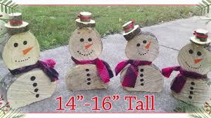 wooden snowman handmade wooden snowmen