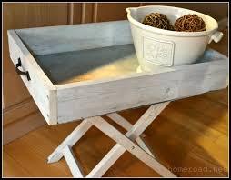 diy tray homeroad diy galvanized steel tray