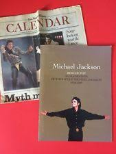 michael jackson funeral program michael jackson funeral ebay