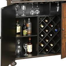 Wine Cabinet With Cooler by Amazon Com Pulaski Walden Wine Cabinet 50 By 17 By 42 Inch