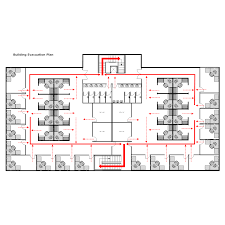 Fire Evacuation Plan Template For Office by Emergency Exit Floor Plan Signs Emergency Evacuation Floor Plan