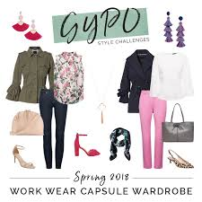 over 40 work clothing capsule spring 2018 work wear capsule wardrobe get your pretty on