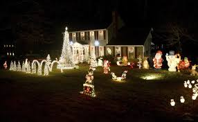 Turn Lights On Amesbury Family Will Turn Out Lights On Christmas Display Local