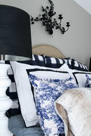 Joss And Main Bedding Master Bedroom Black White And Blue Windgate Lane