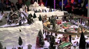 wise ave fire dept christmas train garden pt 1 youtube