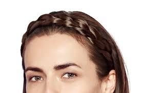 braided headbands chunky braided headband extensions shop hershesons