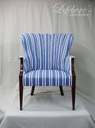 Blue And White Striped Slipcovers Striped Chairs Design Ideas Intended For Blue And White Chair
