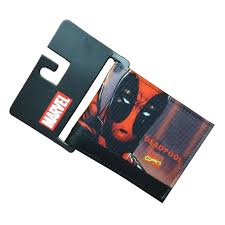 gift card wallet comics dc marvel men wallets fashion casual purse deadpool