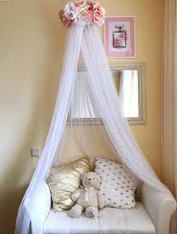 Cot Bed Canopy Newborn Canopy Photo Prop White Baby Mobile Bed Canopy Crib