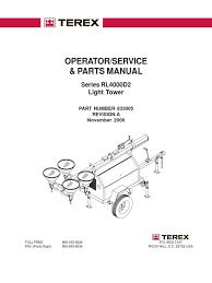 terez light generator motor oil