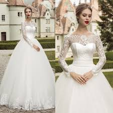 size wedding dresses with sheer sleeves