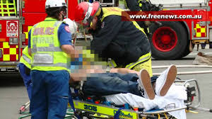 three people transported to hospital after car accident in belmore