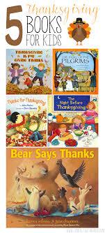 5 thanksgiving books for