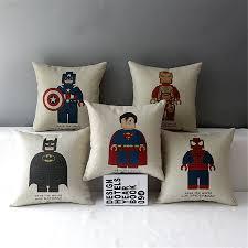 Batman Home Decor Bedroom Batman Pillowcase To Make Bed Time An Adventure For Your