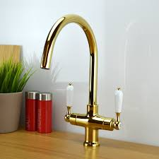 Victorian Style Kitchen Faucets by Brass Kitchen Sink Brass Kitchen Sink Alveus Monarch Line 60