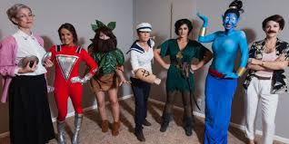 these robin williams halloween costumes will give you squad goals