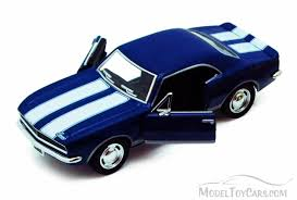 1967 camaro diecast 1967 chevrolet camaro z28 blue kinsmart 5341d 1 37 scale