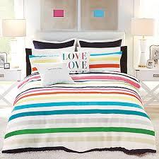 Kate Spade Striped Shower Curtain Kate Spade New York Candy Stripe Comforter Set Bed Bath U0026 Beyond