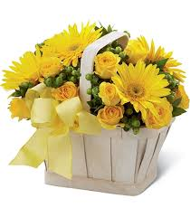 Funeral Flower Bouquets - yellow funeral flower arrangements