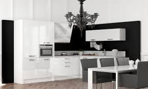 decoration cuisine noir et blanc décoration cuisine noir et blanc 79 toulouse cuisine noir et