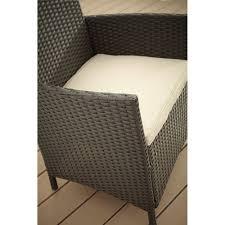 4 Piece Wicker Patio Furniture Cosco Outdoor Jamaica 4 Piece Resin Wicker Patio Conversation Set