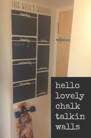 64 best dorm decor wall decals images on pinterest dorms decor vertical week schedule chalkboard vinyl wall decal