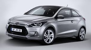 kereta hyundai ioniq hyundai i20 coupe sporting up the three door route