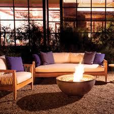 brown jordan fires urth bowl fire pit natural gray eco