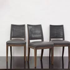 set of six calipso dining chairs by antonio citterio for maxalto