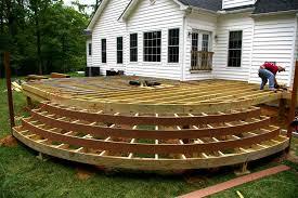 free standing deck designs innovative deck designs
