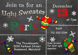 sweater invitations new for 2017