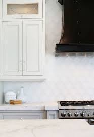 White Glass Backsplash by Arabesque Backsplash Tiles Design Ideas