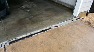 Cover Cracked Concrete Patio by 3 Reasons Why Trench Drains Fail Plastic Trench Drain Com
