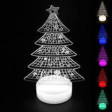 Home Decoration Lights Amazon Com Perfect Lighting 3d Illusion Light Led Table Lamp