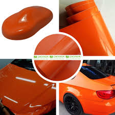 glossy car wrapping vinyl films glossy deep blue