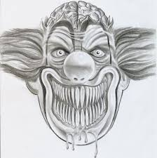 100 clown face tattoo designs 100 gangster clown tattoo