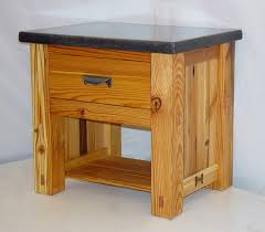 Unfinished Nightstand Pine Nightstands For Sale