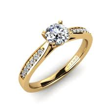 gold engagement rings uk buy 585 yellow gold engagement rings glamira co uk