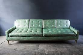 Green Leather Sofa by Steve Zone Best Home Furniture Decoration