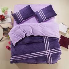coral fleece warm comforter bedding set twin single sport style