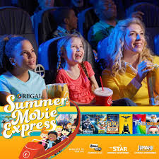 summer movie express at regal cinemas movies only 1