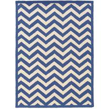 Navy White Area Rug Silhouette Chevron Navy And White 8 Ft X 10 Ft Indoor Area Rug