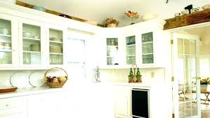 ideas for tops of kitchen cabinets kitchen cabinet top decor ideas for decorating the of cabinets