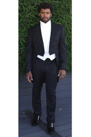 tuxedo for wedding exclusive photos of wilson wearing armani to ciara gq