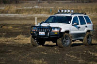 jeep wj roof lights hard kor wj grand cherokee roof mounted light bar kevinsoffroad