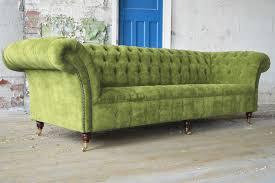 Lime Green Sofa by Green Velvet Sofa For Your Modern Living Room Midcityeast